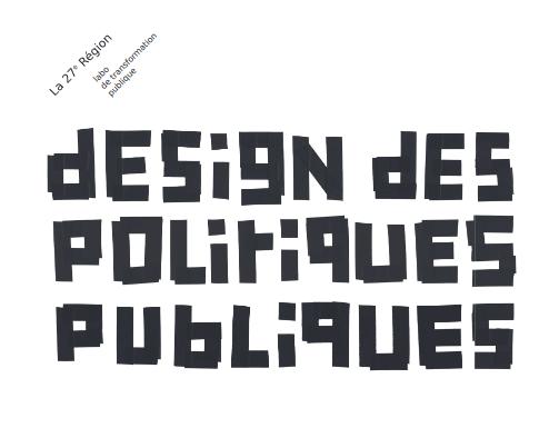design politique publique