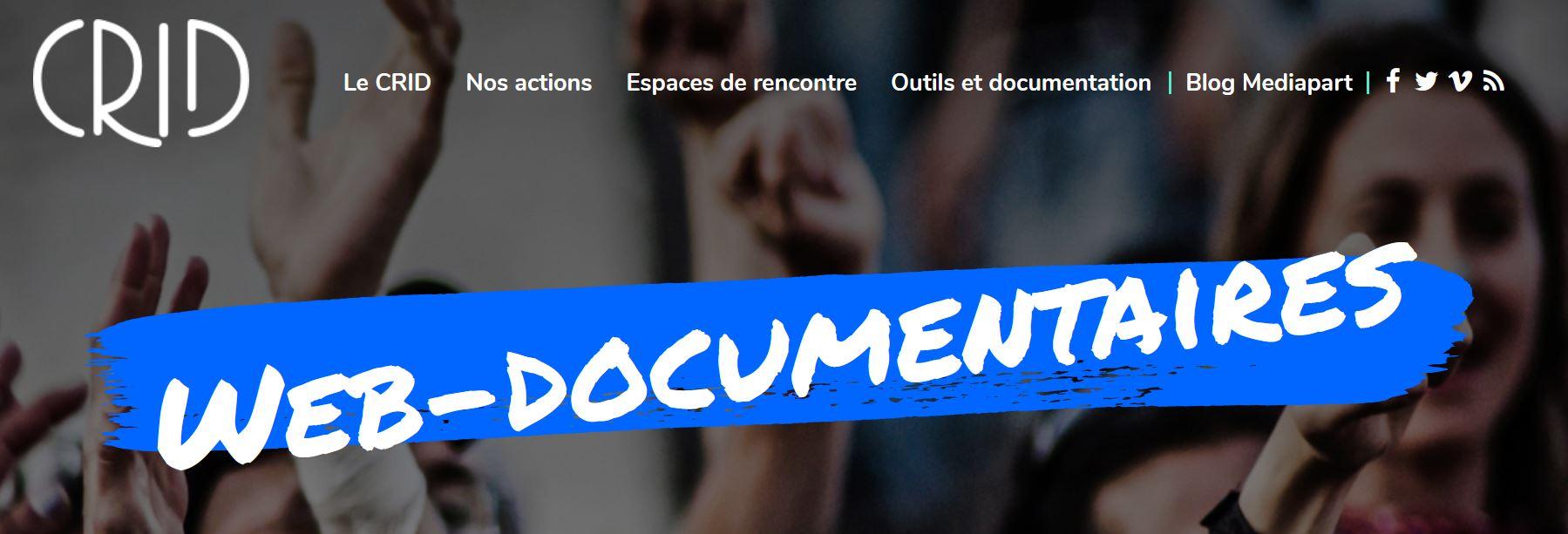 web documentaire CRID